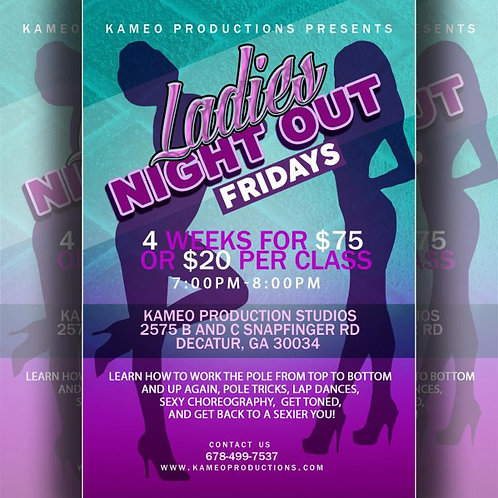 Ladies Night Out Fridays