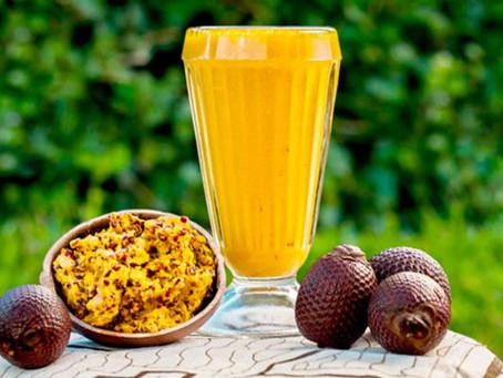 La pulpa de Aguaje: Alto en Vitamina A y Antioxidantes