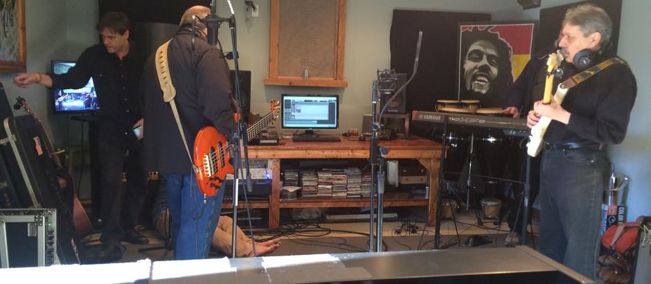 Recording at Evolvement MusicStudio