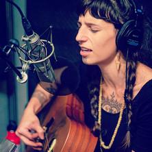 Charity in the studio.
