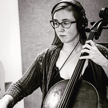 Emmalee in the studio.