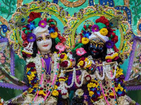 Krishna Prema's Food for Thought 2019 # 7 - Divine Teamwork