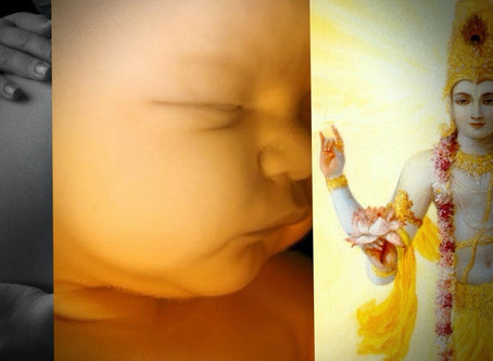 Krishna Prema's Food for Thought 2020 # 5 - Prayers in the Womb