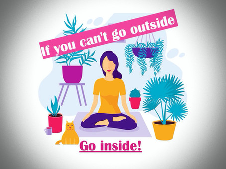 Krishna Prema's Food for Thought 2020 # 11 - If You Can't Go Out - Go Inside!