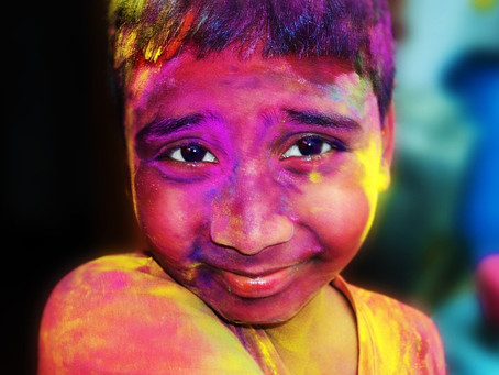 Krishna Prema's Food for Thought 2019 # 11 - Holi, Color Clouds in Vrindavana