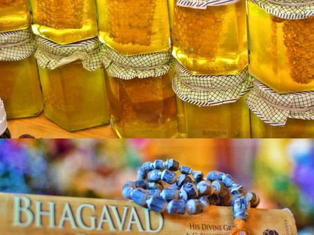 Krishna Prema`s Food for Thought 2018 # 36 - Have I opened the Bottle of Honey?