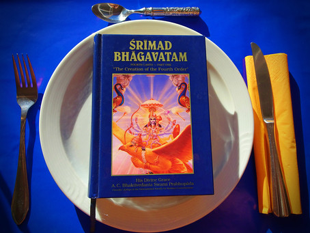 Krishna Prema`s Food for Thought 2018 # 30 - Appetite for Reading
