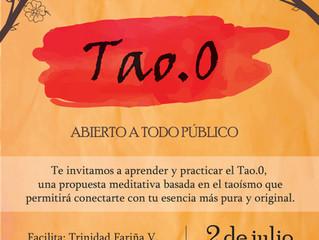 TALLER DE MEDITACIÓN TAOÍSTA  TAO.0