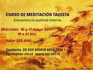 CURSO DE MEDITACIÓN TAOÍSTA