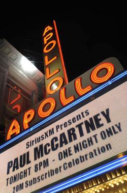 Paul McCartney at The Apollo