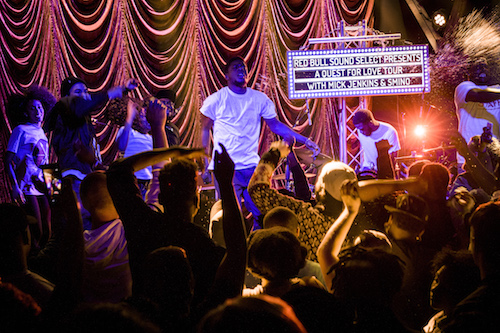 Mick Jenkins performs at RBS