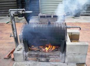 Un poele pour la production d'eau chaude