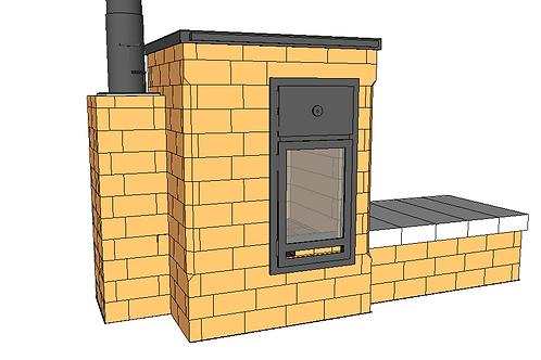 Kit de briques pour le B28 V2 (angles coupés)