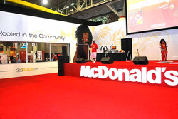 2014 McDonald's Essence Booth