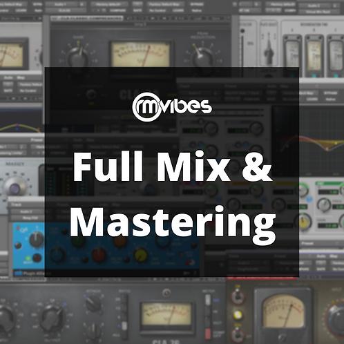 Full Mix & Mastering