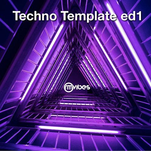 Ableton Techno Template 01