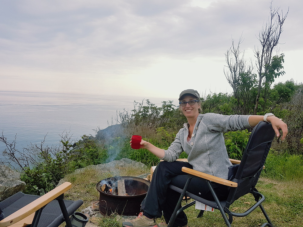 Our wonderful campsite on Grand Manan Island