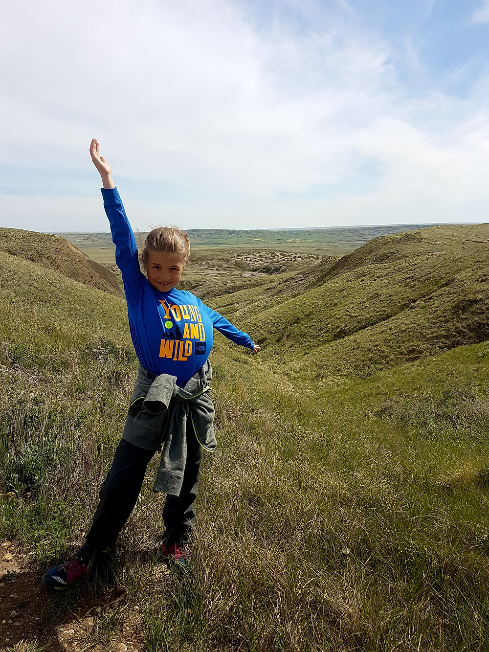 Hike to the top of 70 Mile Butte