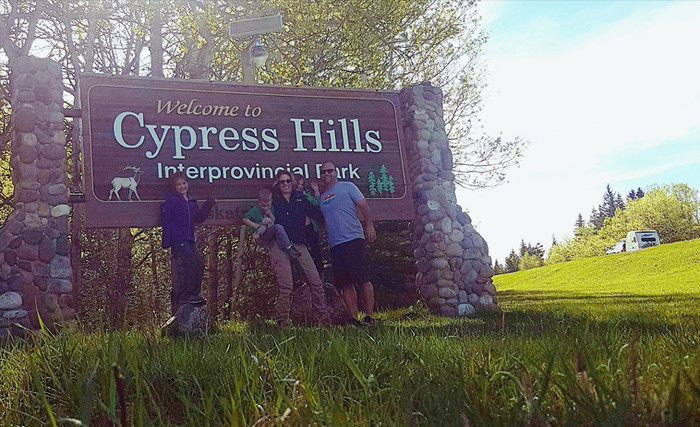 BLOWN AWAY at Cypress Hills Interprovincial Park