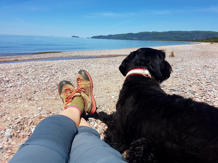 Agawa Bay, Lake Superior is picture perfect