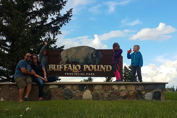 New Friends at Buffalo Pound