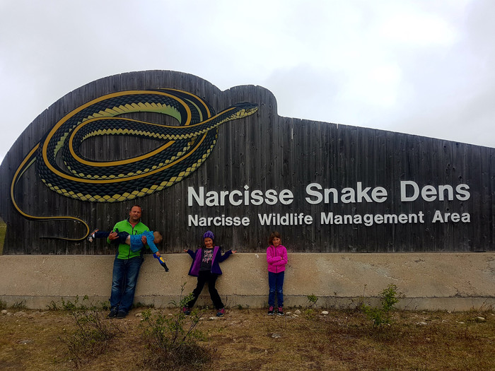 Terrified & Awesome, Two Words for the Narcisse Snake Dens