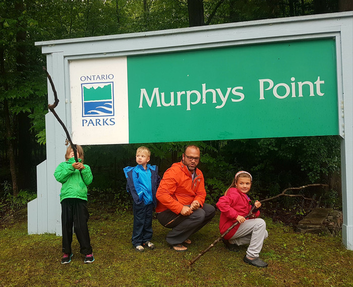 Rainy Days with Uncle Jon at Murphy's Point