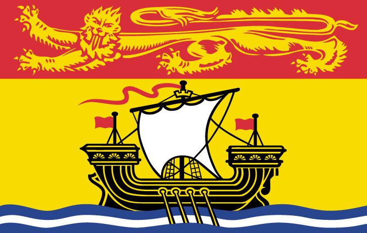 New Brunswick Provincial Flag