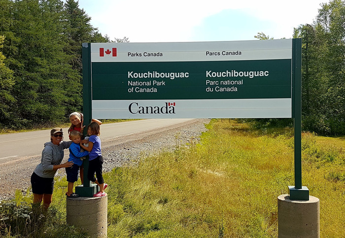 """Could you come back"" = Kouchibouguac"