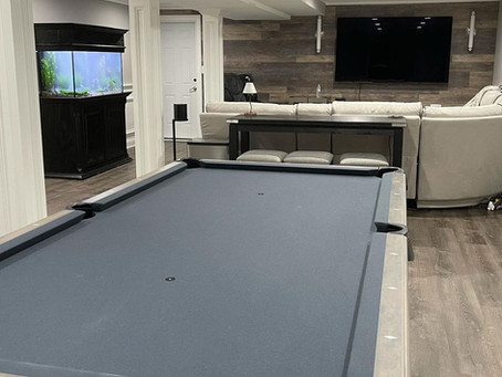 we can live in this basement forever!