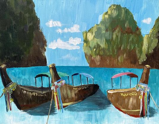 Koh Phi Phi Longboats