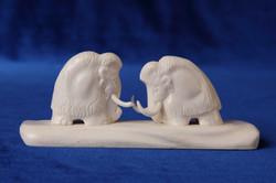 Скульптура Мамонты. Материал цевка.JPG