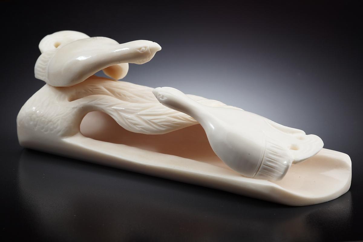 Скульптура Тетерева, Материалт цевка.jpg