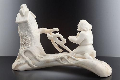 """Скульптура """"Отшельник """""""