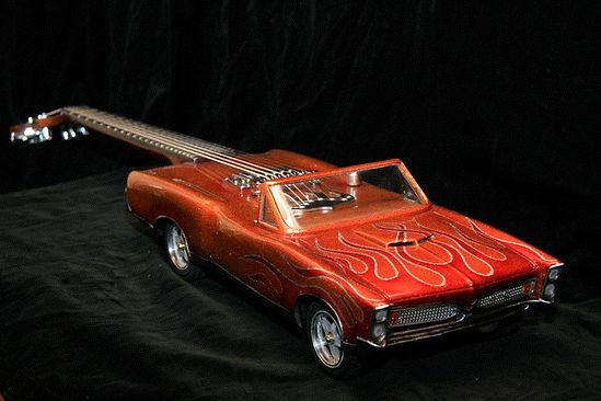 Car guitar