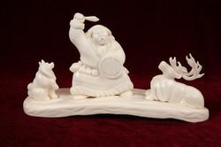 Скульптура Танец шамана, Материал рог лося.JPG