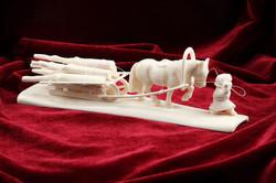 Скульптура Мужичок с ноготок, Материал цевка.jpg