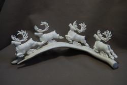 Скульптура                 Бег,            Материал  цевка, рог оленя.jpg