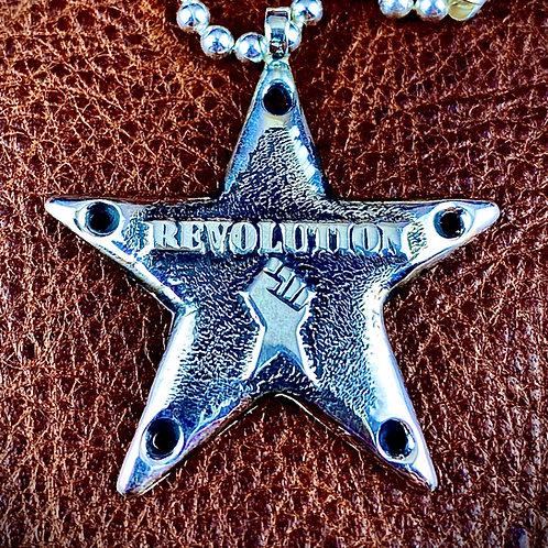 McSwain Revolution Star Pendant - .925 Silver