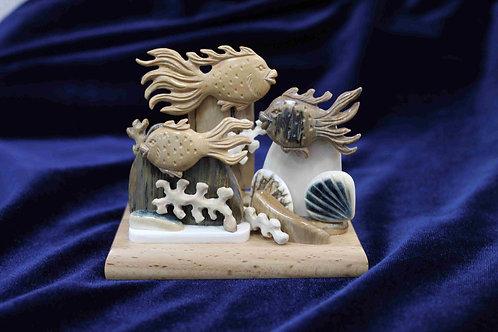 "Скульптура ""Рыбки"""