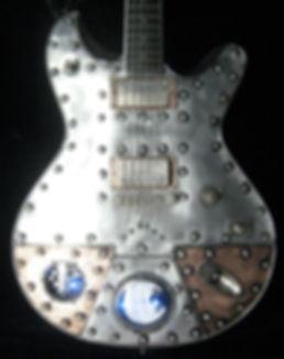 Starlingear Cusomt Metal Guitar