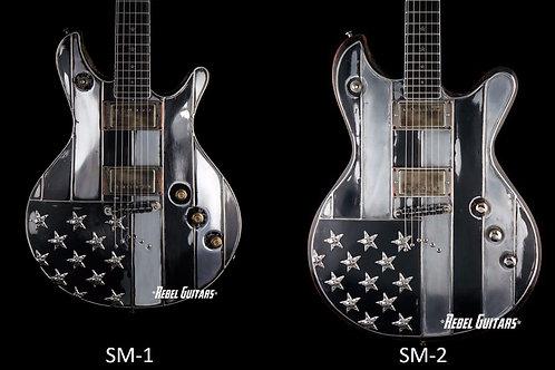 Custom order Black Flag Guitar