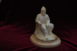 Скульптура Ермак           Материал бивень мамонта.jpg