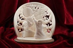 Скульптура Праздник весны, Материал цевка.JPG