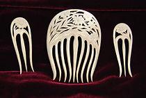 Шпилька, гребень Июль Материал Бивень мамонта