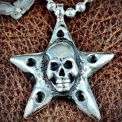McSwain Skull Pendant - .925 Silver