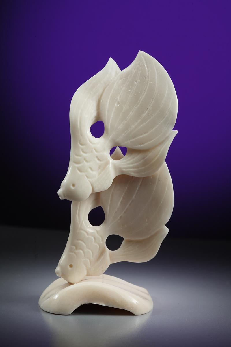 Скульптура Петушки   Материал цевка.jpg