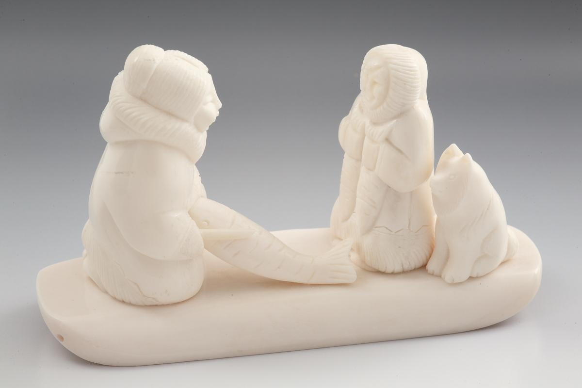 Скульптура Помощница, Материал цевка.JPG