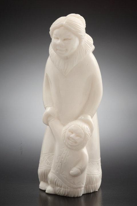 """Скульптура """"С мамой """""""