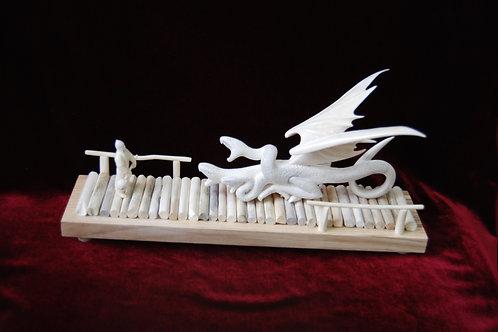 """Скульптура """"Бой на Колиновом мосту"""""""